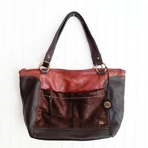 The Sake Leather Hobo Shoulder Bag